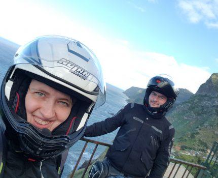 Świąteczna Madera czyli motocyklem w grudniu po wyspie