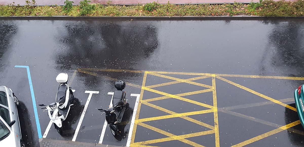 Parking dla skuterów