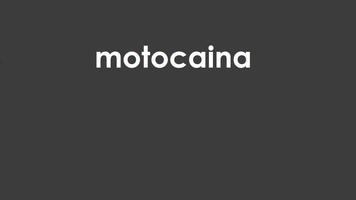 Motocaina